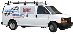 picture of Armstrong Garage Door service van